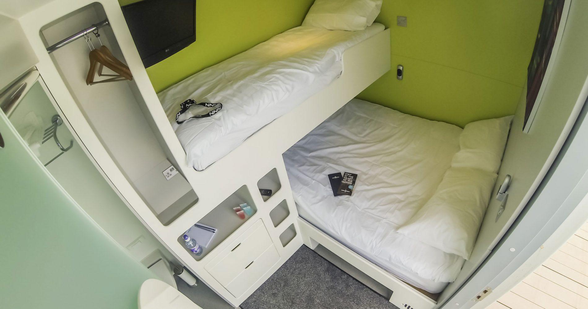Snoozebox inside