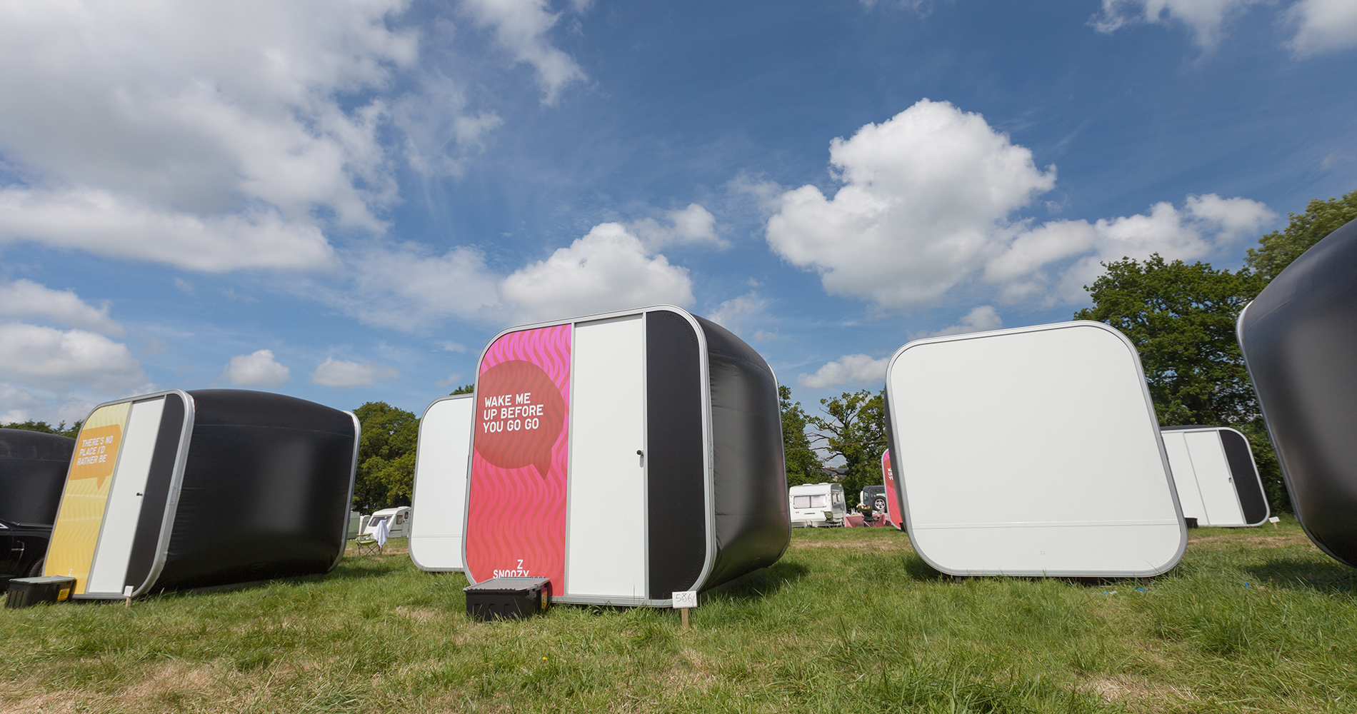 Inflatable Hotel Rooms