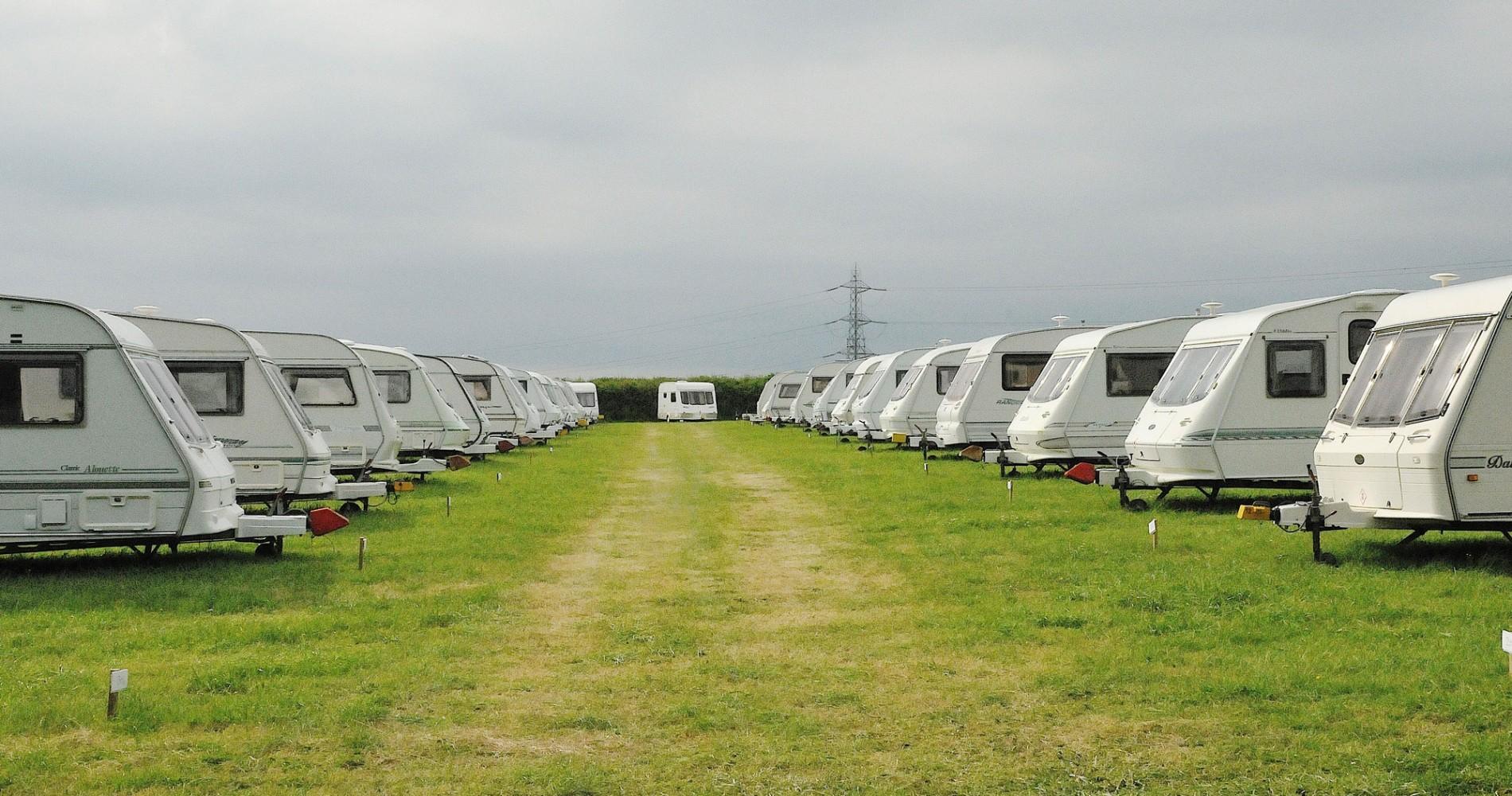 Caravan row